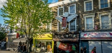 Alternatywny Londyn, Camden Town, Regent's Canal (17)