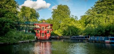 Alternatywny Londyn, Little Venice, Regent's Canal (11)