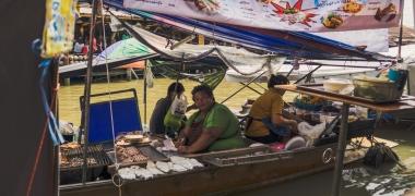 Amphawa Floating Market, Jedzenie (1)