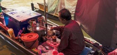 Amphawa Floating Market, Jedzenie (2)