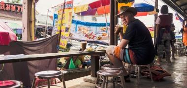 Amphawa Floating Market, Jedzenie (3)