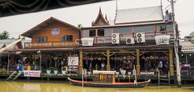 Amphawa Floating Market, Pływający Targ (3)