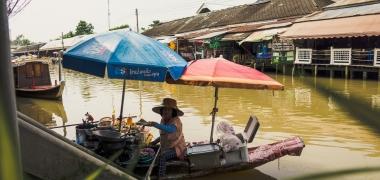Amphawa Floating Market, Pływający Targ (4)
