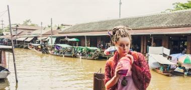 Amphawa Floating Market, Pływający Targ (6)