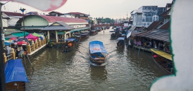Amphawa Floating Market, Pływający Targ (7)