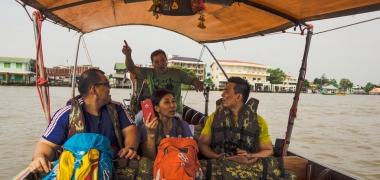 Amphawa Floating Market, Rejs (2)