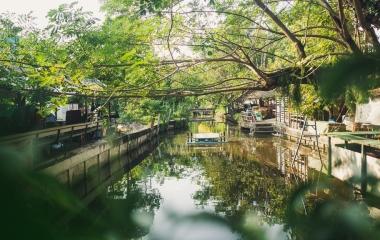 Bangkok, Bang Kachao, Bang Nam Phueng Floating Market