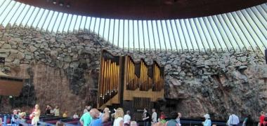 Helsinki, Protestancki Kościół Temppeliaukio (2)