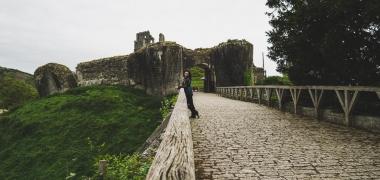Zamek Corfe Castle (1)