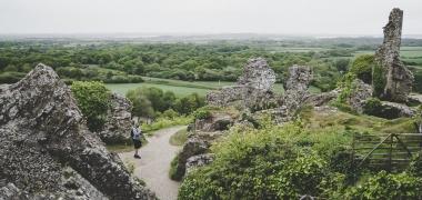 Zamek Corfe Castle (11)