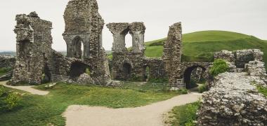 Zamek Corfe Castle (14)