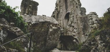 Zamek Corfe Castle (3)
