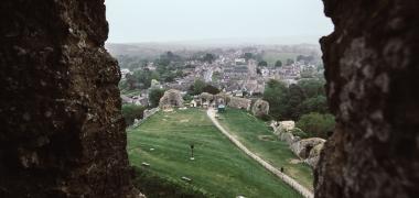 Zamek Corfe Castle (4)
