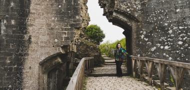 Zamek Corfe Castle (6)