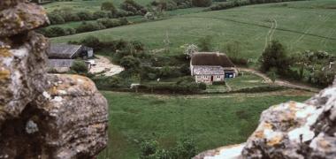 Zamek Corfe Castle (7)