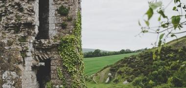 Zamek Corfe Castle (8)
