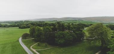 Zamek Lulworth Castle & Park, Widok z Dachu (1)
