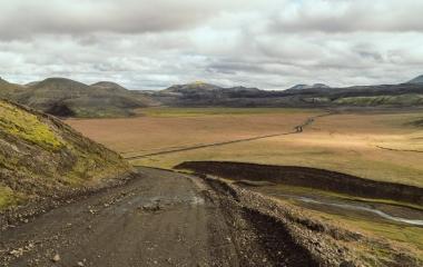 Landmannalaugar- Droga w Tęczowe Góry, (8)