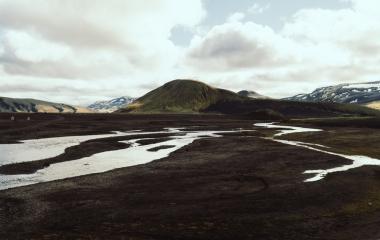 Landmannalaugar, Przekraczanie rzek (2)