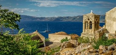 Monemwasia, Górne Miasto Dolne Miasto Gibraltar Wschodu Agía Sofía promo (2)