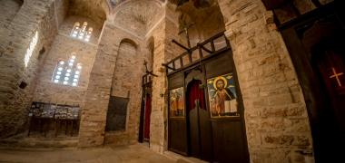 Monemwasia, Górne Miasto, Kościół Agía Sofía, Wnętrza (5)