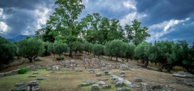 Nowa Sparta posąg Leonidasa Ruiny starożytnej Sparty Ruiny Starożytnego Miasta Droga Sparta Inne (7)