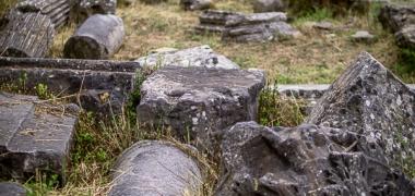 Nowa Sparta posąg Leonidasa Ruiny starożytnej Sparty Ruiny Starożytnego Miasta Droga Teatr Sparta (2)