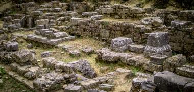 Nowa Sparta posąg Leonidasa Ruiny starożytnej Sparty Ruiny Starożytnego Miasta Droga Teatr Sparta (3)