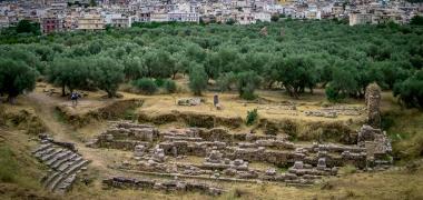 Nowa Sparta posąg Leonidasa Ruiny starożytnej Sparty Ruiny Starożytnego Miasta Droga Teatr Sparta (4)