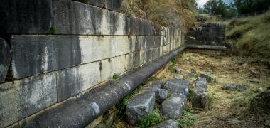 Nowa Sparta posąg Leonidasa Ruiny starożytnej Sparty Ruiny Starożytnego Miasta Droga Teatr Sparta (8)