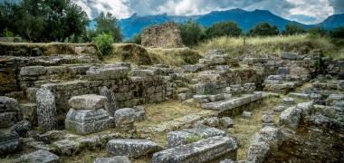 Nowa Sparta posąg Leonidasa Ruiny starożytnej Sparty Ruiny Starożytnego Miasta Droga Teatr Sparta (9)