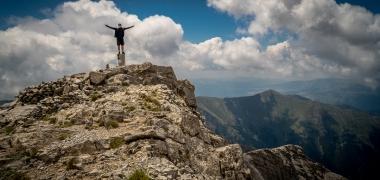 Olimp, Skolio, Mitikas, Litochoro, Prionia, Mitikas czy Skolio Czyli Opowieść o Tym Jak Zdobyliśmy Olimp, góry (10)