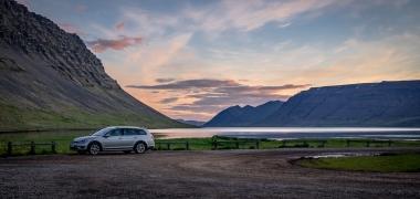 Samochodem po Islandii. Lato.