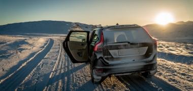 Samochodem po Islandii. Zima.