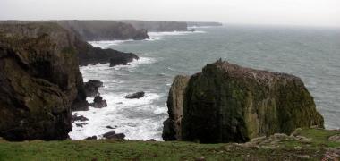 Pembrokeshire, Blisko Castlemartin (1)