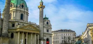 Wien, Kościół św. Karola Boromeusza (1)