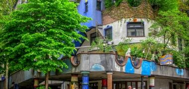 Wien, Dom Hundertwassera (2)