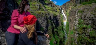 Wodospad Glymur Islandia (10)