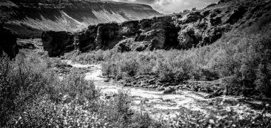 Wodospad Glymur Islandia (13)