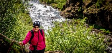 Wodospad Glymur Islandia (14)