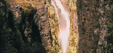 Wodospad Glymur Islandia (19)