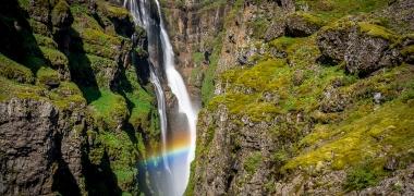 Wodospad Glymur Islandia (21)