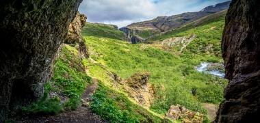Wodospad Glymur Islandia (3)