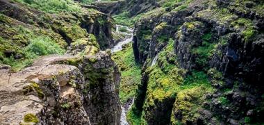 Wodospad Glymur Islandia (7)