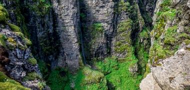 Wodospad Glymur Islandia (8)