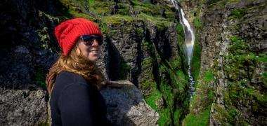 Wodospad Glymur Islandia (9)