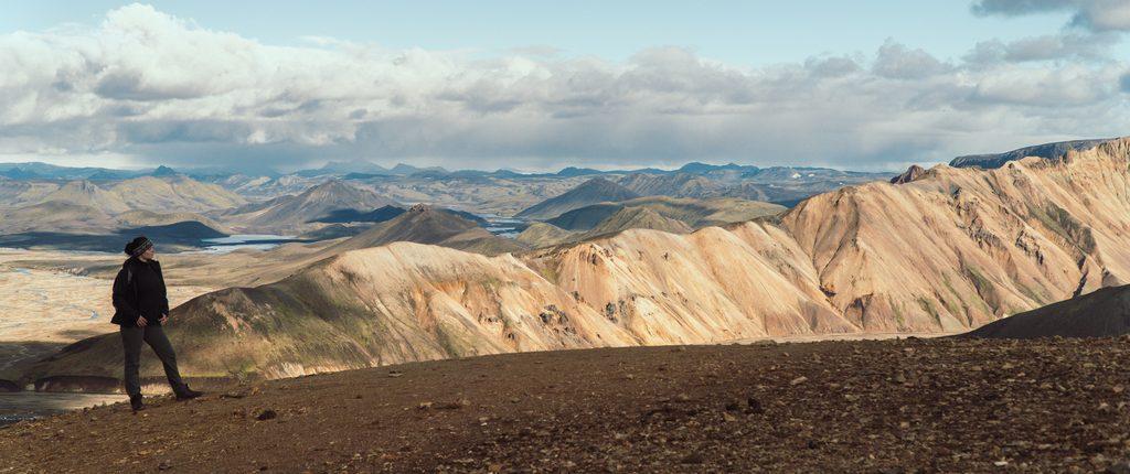 Islandzki Interior, czyli Landmannalaugar (Tęczowe Góry) i wulkan Brennisteinsalda.