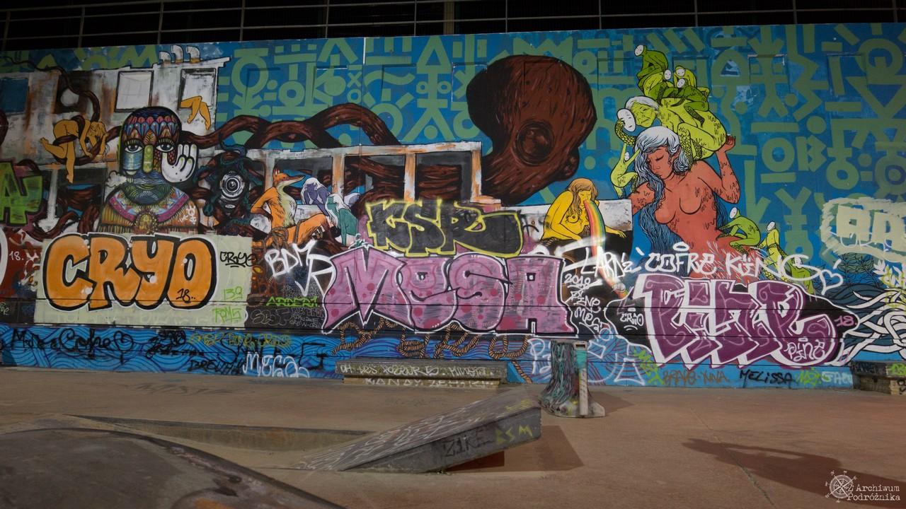 La Friche de la Belle de Mai, Skatepark