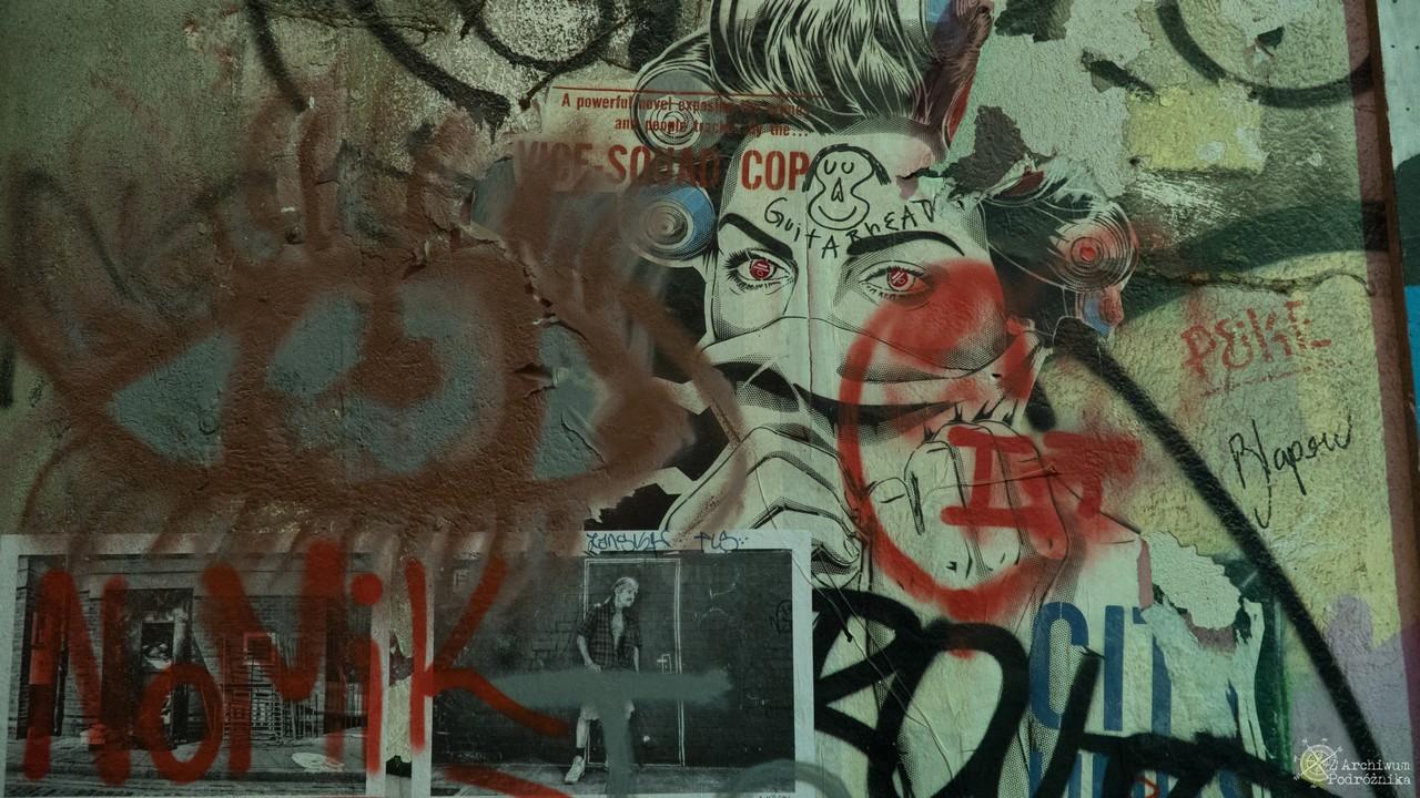 La Friche de la Belle de Mai, Graffiti