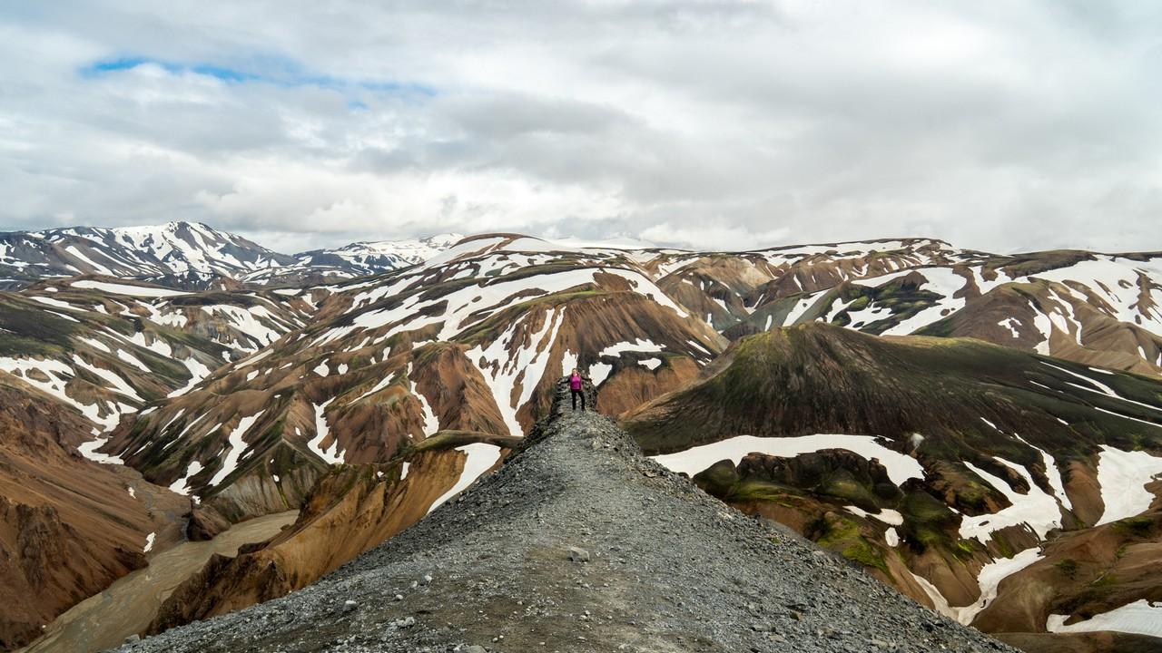 Bláhnúkur, Grænagil Laugahraun i Gorące Źródła w Landmannalaugar